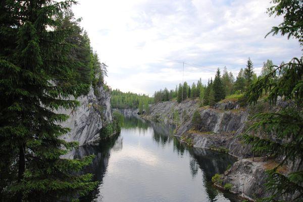 Рускеала: царство мрамора